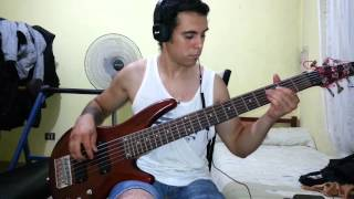 IRON MAIDEN - Fortunes Of War. Bass Cover by Samael.