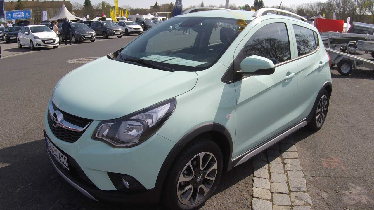 opel karl rocks compilation 2 mint green pacific blue walkaround interior new model. Black Bedroom Furniture Sets. Home Design Ideas