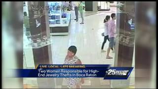 Search on for women who stole jewelry