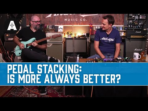 Finding the Ultimate Gain Tone by Stacking Overdrive Pedals - Is More Always Better?