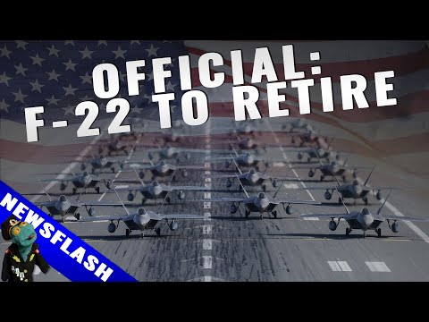 USAF just said it will retire F-22 much earlier than planned (Newsflash video)