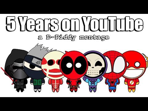 Happy 5 Years On YouTube! - A D-Piddy Montage