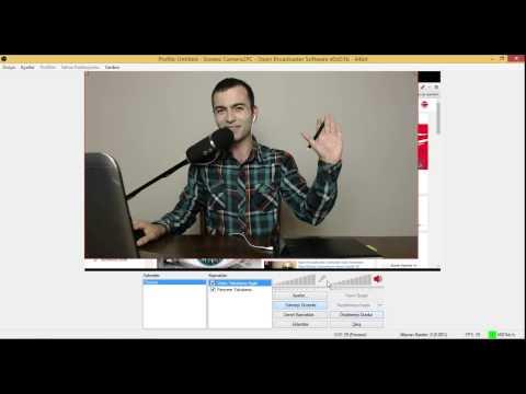 Open Broadcaster Software Pcderslerim Sahne, Facecam Ayarları #8