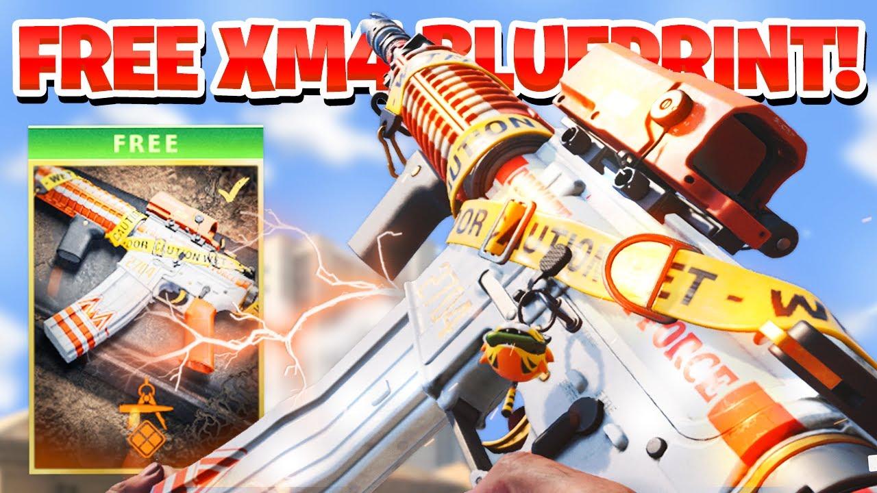 UNLOCK FREE XM4 BLUEPRINT in Cold War Warzone Season 4! (Black Ops Cold War Warzone Free Blueprint)