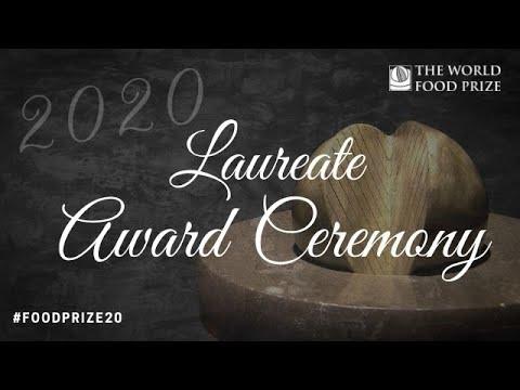 2020 World Food Prize Laureate Award Ceremony