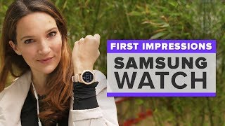 Samsung Galaxy Watch first impressions: Best features and what it's missing