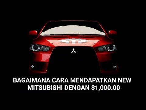 Bagaimana cara mendapatkan new Mitsubishi dengan $1,000.00