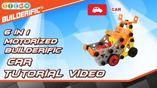 Builderific™ HOW TO - Motorized Car Tutorial Video | RED BOX TOY