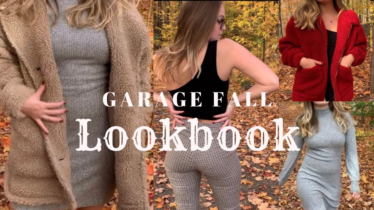 [VIDEO] - GARAGE CLOTHING HAUL  - FALL LOOKBOOK 2019- 2