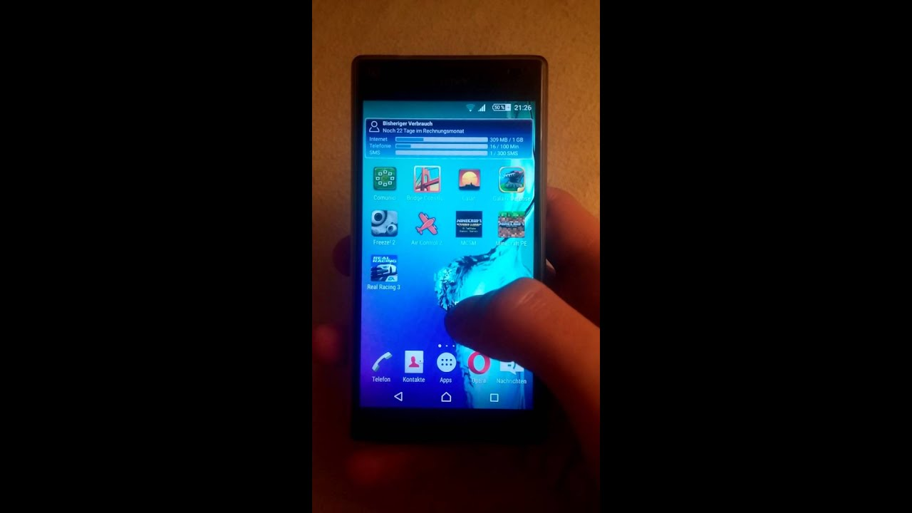 Sony xperia z5 hintergrundbild fixieren