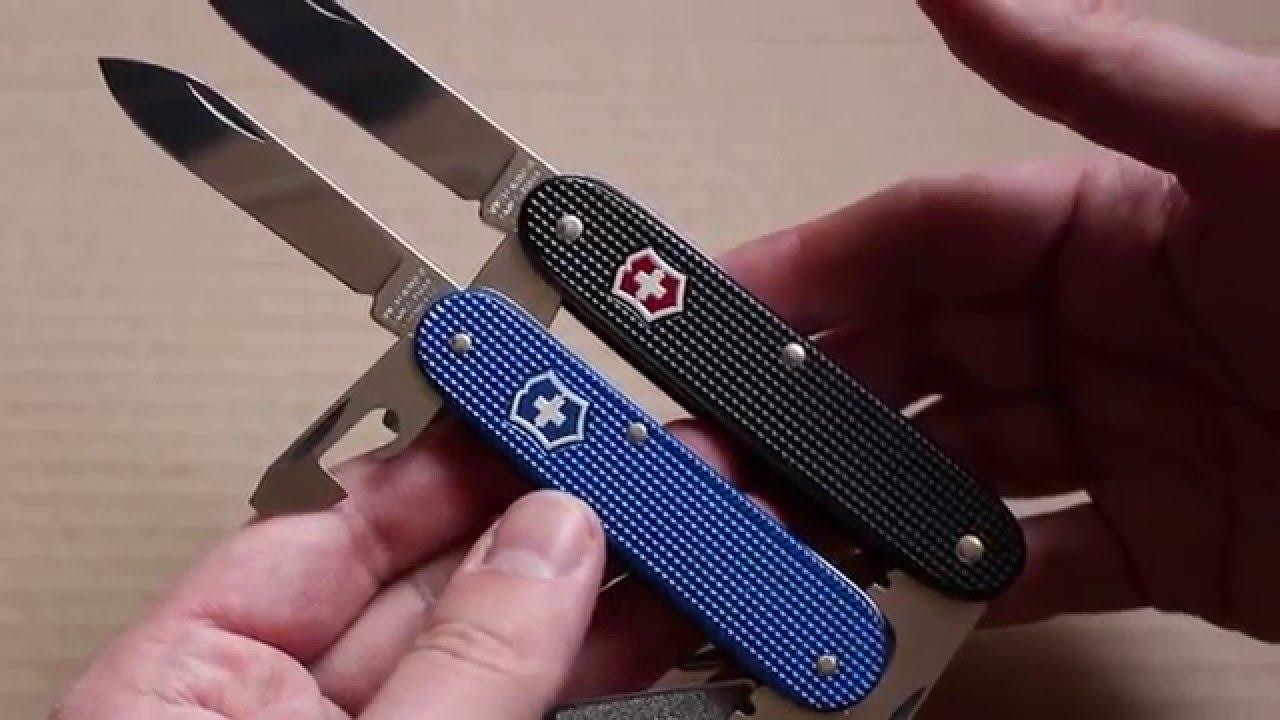 Victorinox Alox Cadet Vs Pioneer Swiss Army Knife
