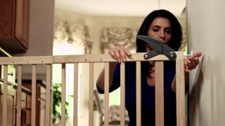 Dreambaby Nottingham Stair Gate - How To Fit Video | Babysecurity