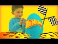 HOT WHEELS GIANT PLAY DOH SURPRISE EGG with Ace Fun Time