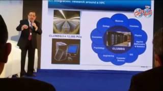 أخبار اليوم | العالم المصري صاحب جائزة أسرع كمبيوتر في العالم يطرح فكرة لتلافي حوادث الطيران