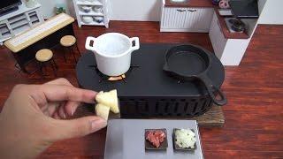 Mini Food Croquette 食べれるミニチュア コロッケ thumbnail