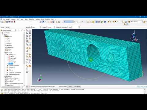 Repeat Modeling RC Beam on Abaqus by Ahmed Mounir - You2Repeat