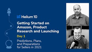 DAY 1: Getting Started On Amazon - 2021 Product Research & Launching with Kevin King & Brandon Young