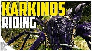 KARKINOS RIDING! - Karkinos Gameplay - Ark Aberration Expansion Pack DLC EP#11