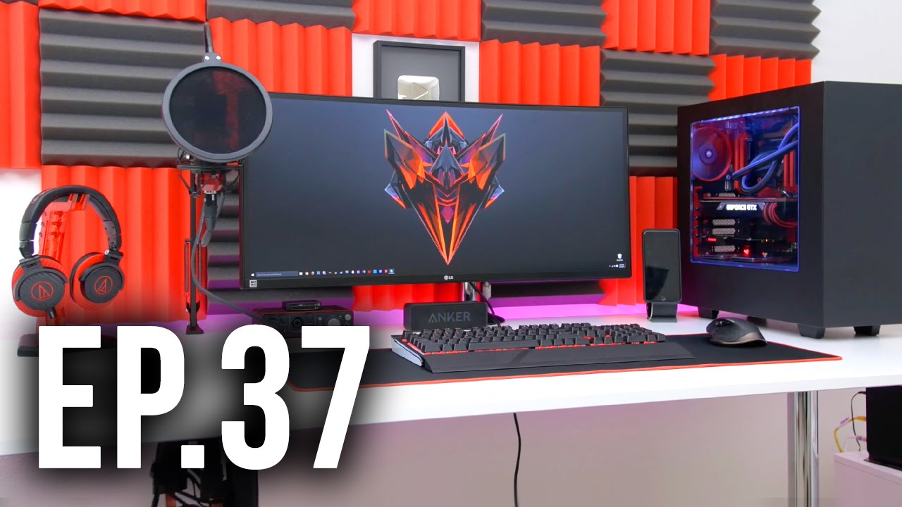 Room Tour Project 37 - Best Gaming Setups ft. TechSource ...