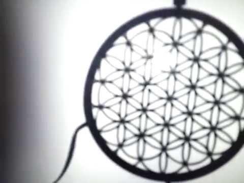 Flower of life dreamcatcher youtube for Dreamcatcher weave patterns