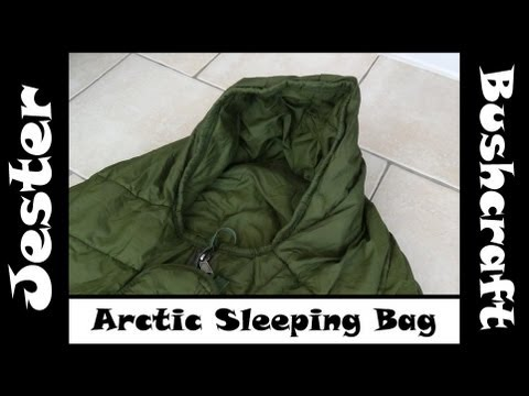 Bushcraft - British Army Arctic Sleeping Bag Overview