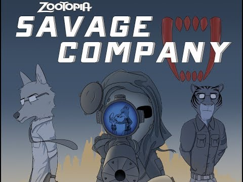 Repeat Zootopia Comic- Savage Company (CHAPTER ONE) by Nick