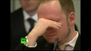 Breivik trial video: 'Norway killer' claims self-defense, cries in court