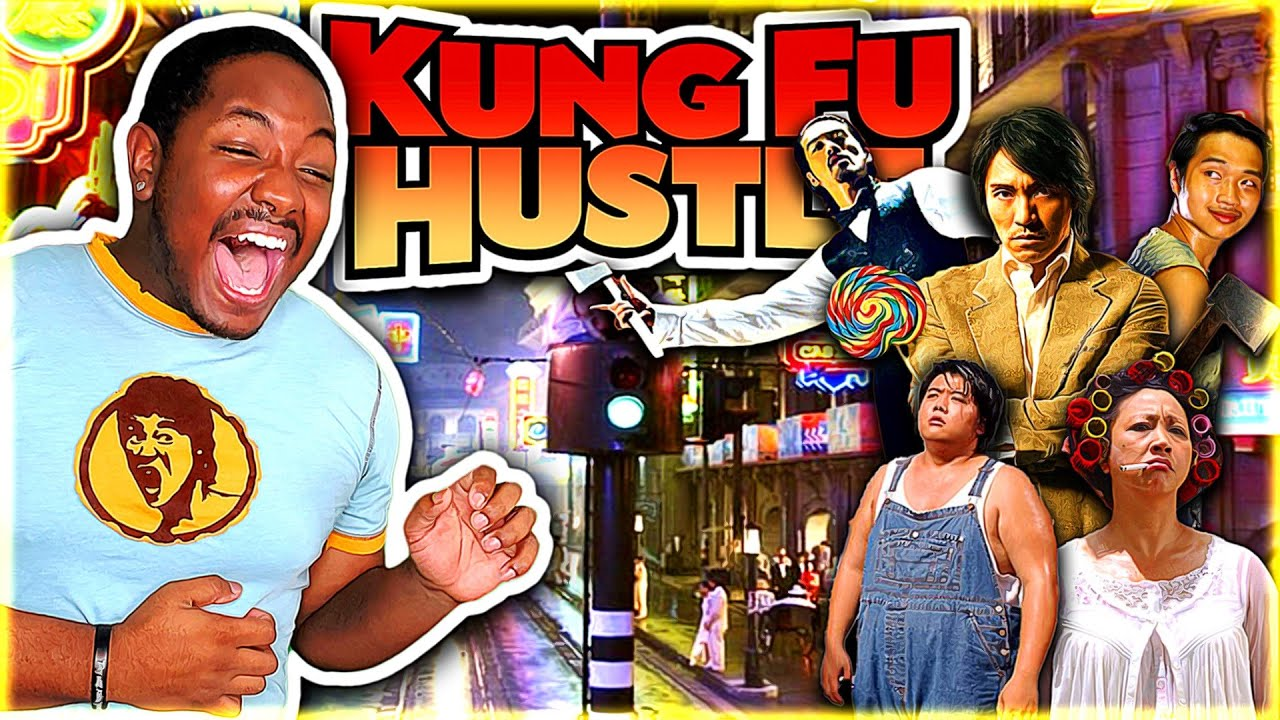 Download KUNG FU HUSTLE (2004) Movie Reaction *FIRST TIME WATCHING*   THINK I FOUND MY NEW FAVORITE COMEDY!