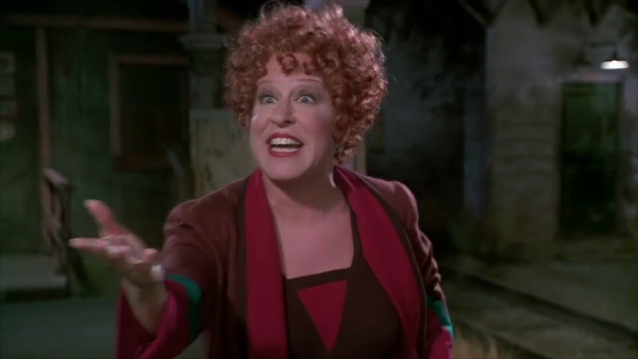 GYPSY - Everything's Coming up Roses - Bette Midler 1993 - YouTube