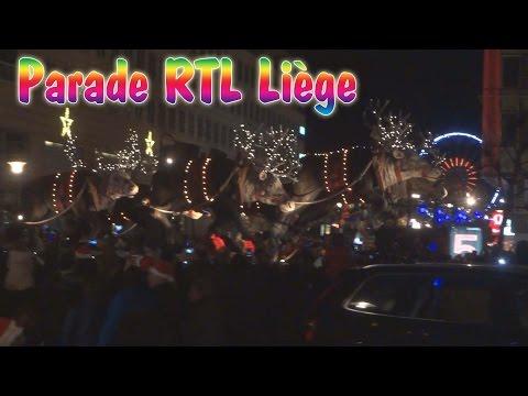Parade de Noël RTL à Liège 2015