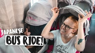 BUS RIDE ACROSS JAPAN! + Japanese Road Trip Snacks (Tokyo 🚌 Kyoto)