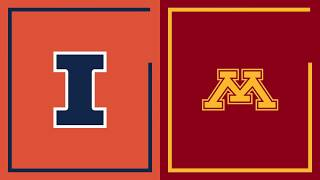 First Half Highlights: Minnesota at Illinois | Big Ten Basketball