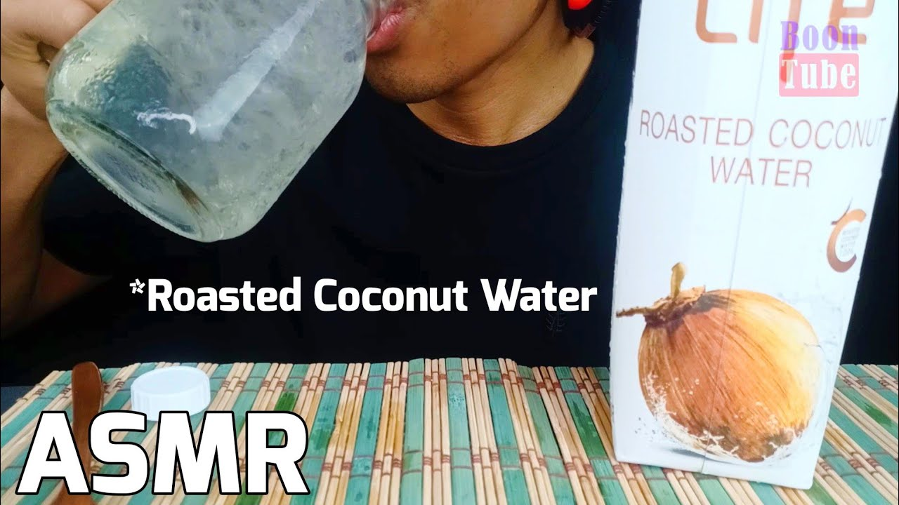 ASMR Drinking ~Roasted Coconut water FOCO Life+ ~ EXTREME CRUNCH | EP.123 I BoonTube