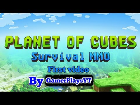New update lucky block first video (🌎planet of cubes 🌎)