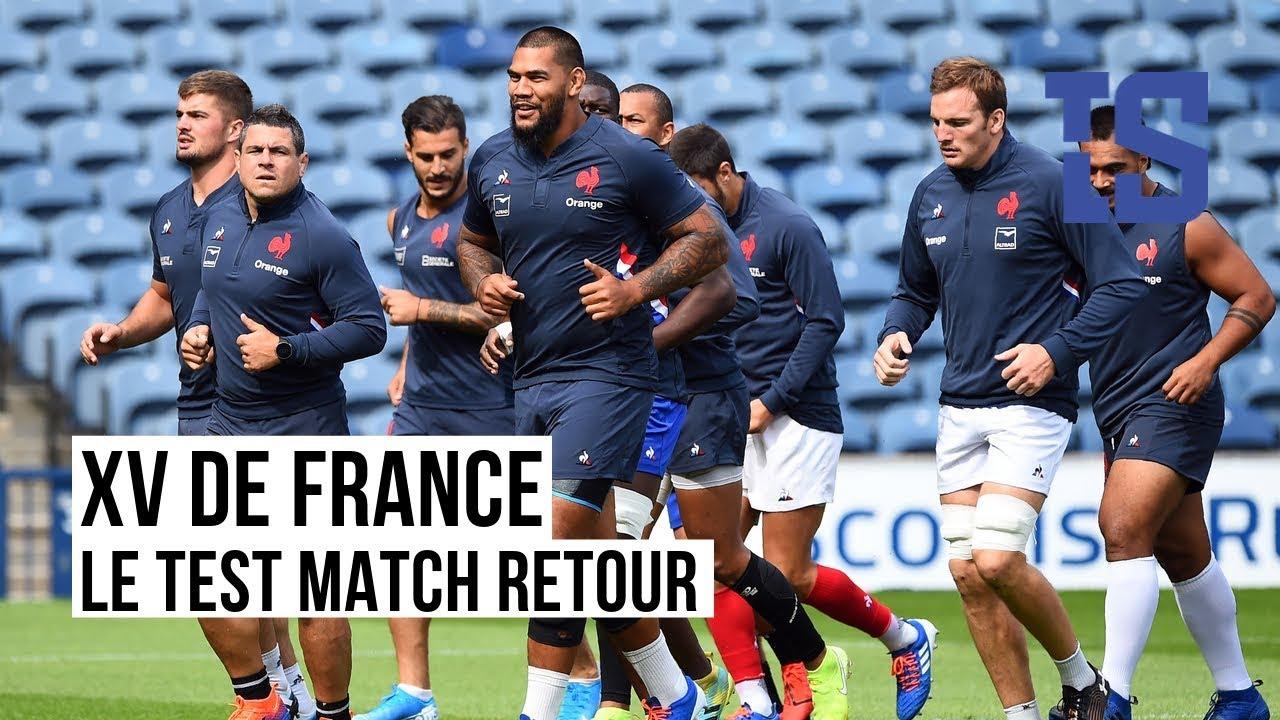 XV De France Face L Ecosse L acte De La Pr paration Pour Les Bleus YouTube