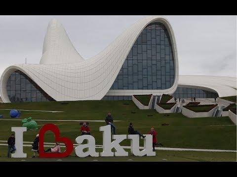 Новый год в Баку, Азербайджан 2018 New Year in Baku, Azerbaijan 2018