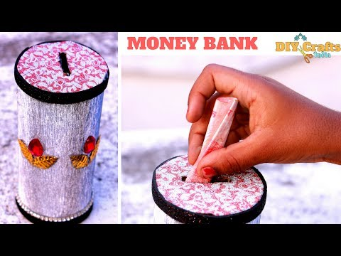 Easy Cardboard Money Bank | Shabdkosh/ Undiyal | DIYCrafts India #33