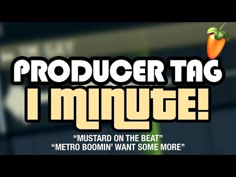 PRODUCER TAGS IN 1 MINUTE - Cмотреть видео онлайн с youtube, скачать бесплатно с ютуба