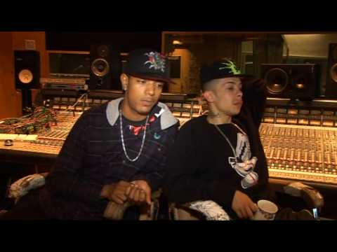 Fazer & Dappy from N-Dubz on chart success and the new album