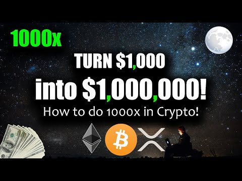 How to Become a Crypto Millionaire with $1,000