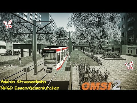 OMSI 2 Tram NF6D Essen/Gelsenkirchen first look