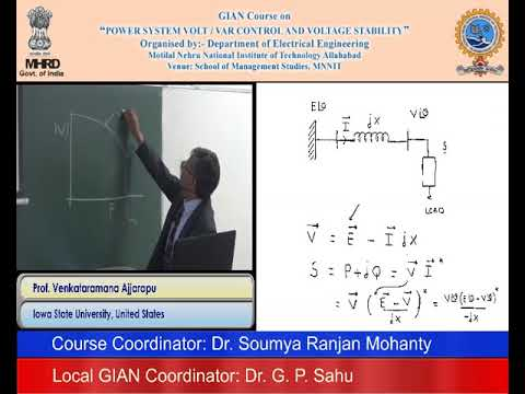 (Day 1, Session 1) Power System Volt / Var Control & Voltage Stability
