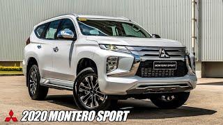 2020 Mitsubishi Montero Sport Snaps - Philippines