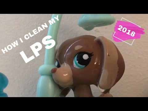 How To Clean LPS With Items You Have At Home - Galaxy Rose LPS