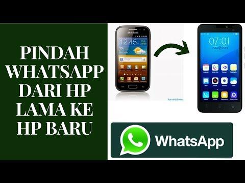Cara Pindah Whatsapp Ke HP Baru Tanpa Hilang Percakapan Penting