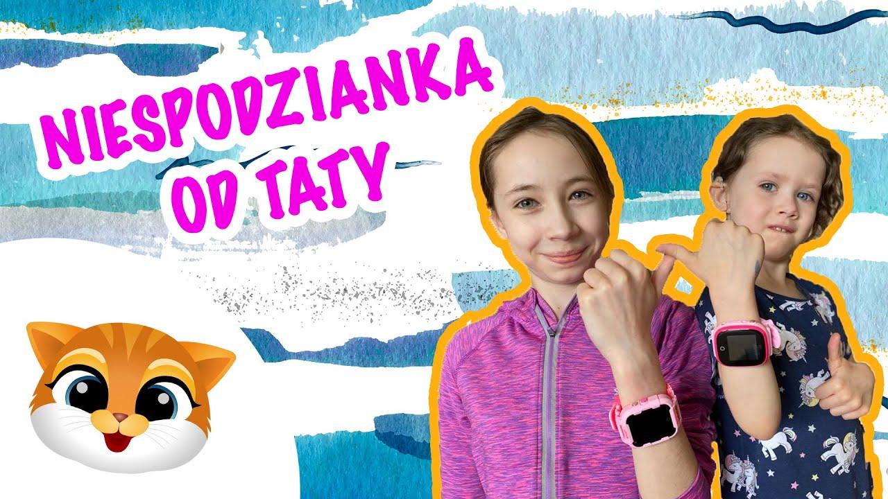 Smartwatch dla dziecka - Zobacz z jakiego modelu ucieszyły się Hania i Zosia.
