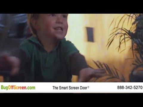 French Door Screens   Magnetic French Door Screens