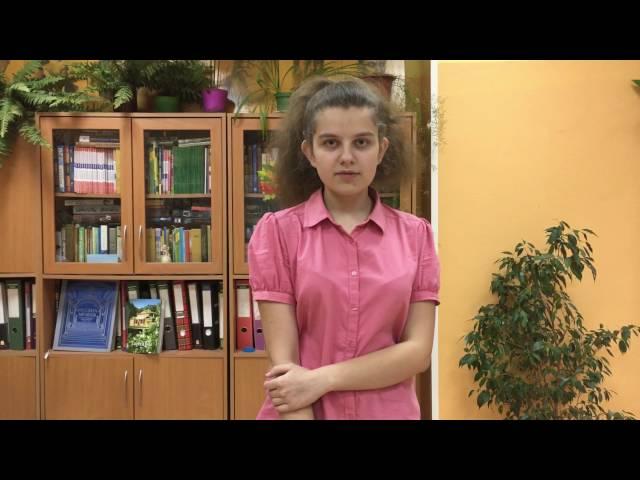 Изображение предпросмотра прочтения – АнастасияСлесаренко читает произведение «Сухие листья (Сухие листья, сухие листья...)» В.Я.Брюсова