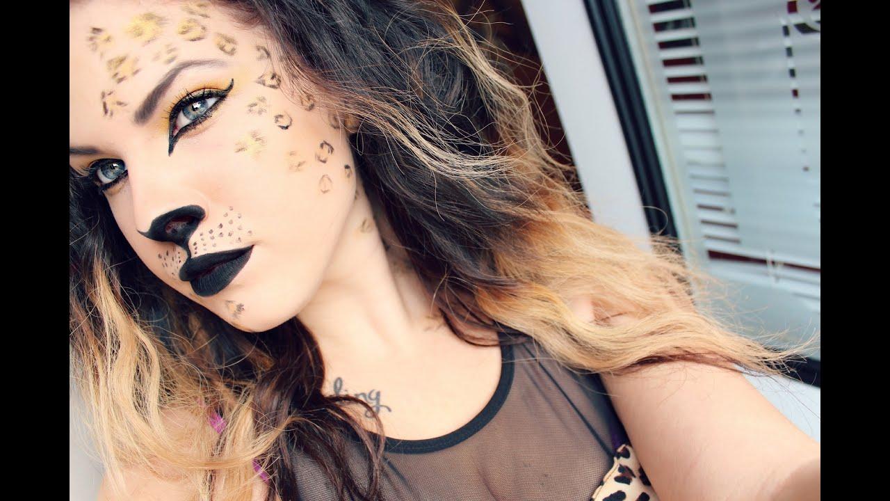 Sexy cheetah halloween costume