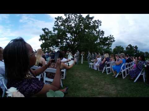 Sarah & Robert Wedding  with 2017 Samsung Gear 360360